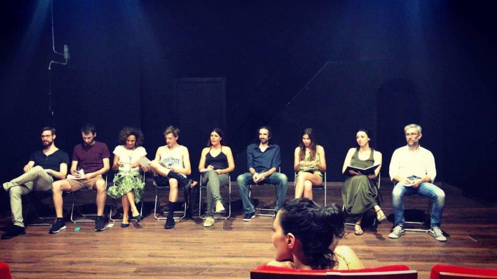 corso di teatro per attori avanzato con spettacolo